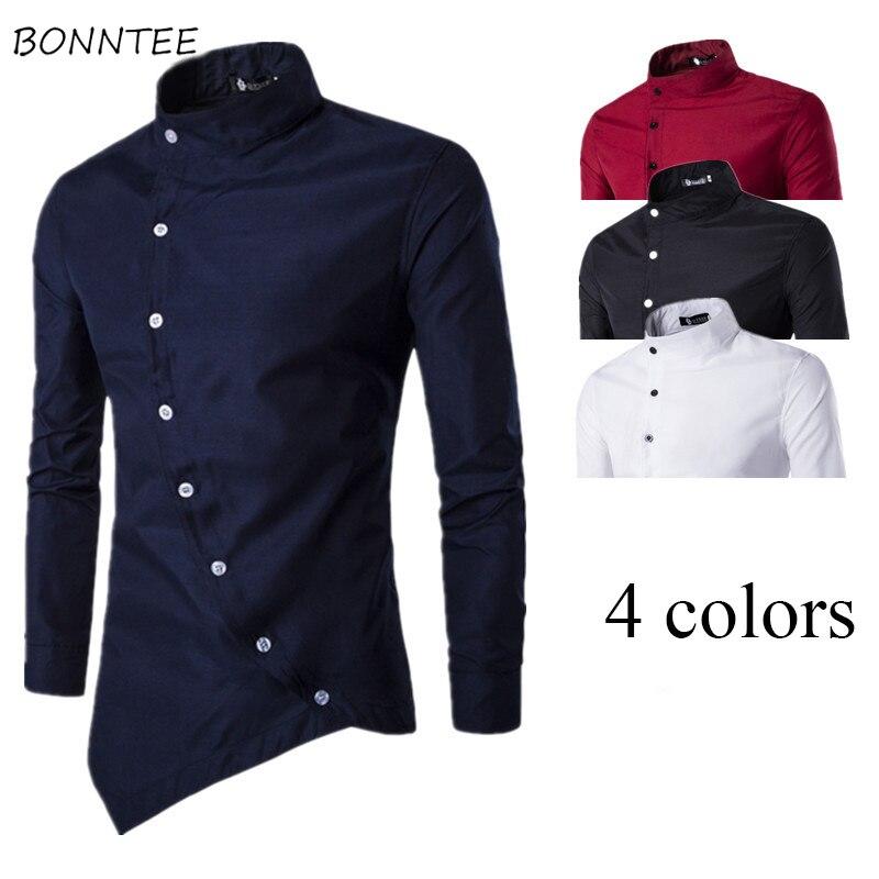 Flight Tracker Shirts Männer Einreiher Schlank Solide Einfache Allgleiches Weichen Hohe Qualität Europäischen Stil Shirt Herren Ulzzang Langarm Kleidung Online Shop