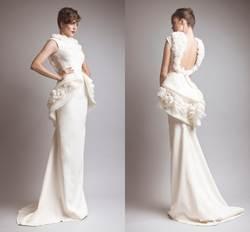 2015 Гламурное платье для выпускного вечера из Саудовской Аравии, вышитый бисером короткий рукав, перьевой цветок, с низкой спинкой, с