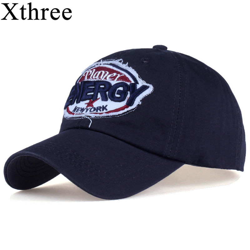XTHREE fashion Baseball Cap Embroidery snapback hat for men women Cotton Casual caps Hat unisex wholesale novelty women men winter warm black full face cover three holes mask beanie hat cap fashion accessory unisex free shipping