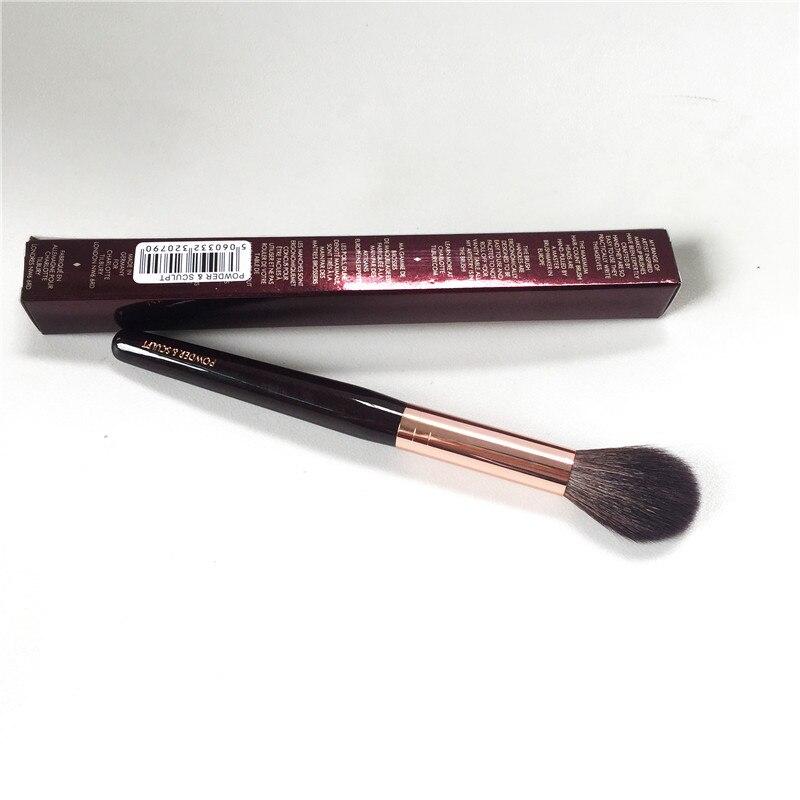CT-Serie Pulver & Sculpt Pinsel-Eichhörnchen Haar & Ziegenhaar Mischen Weiche Highlighter Sculpting Pinsel-Make-Up mixer Werkzeug