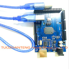 5PCS Mega 2560 R3 Mega2560 REV3 (ATmega2560-16AU CH340G) Board NO USB Cable compatible for Arduino [NO USB line]