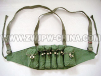 Original Surplus Chinese Army Type 79 Chest Rig Ammo Pouch Military Gear Grenade Bag CN 10407