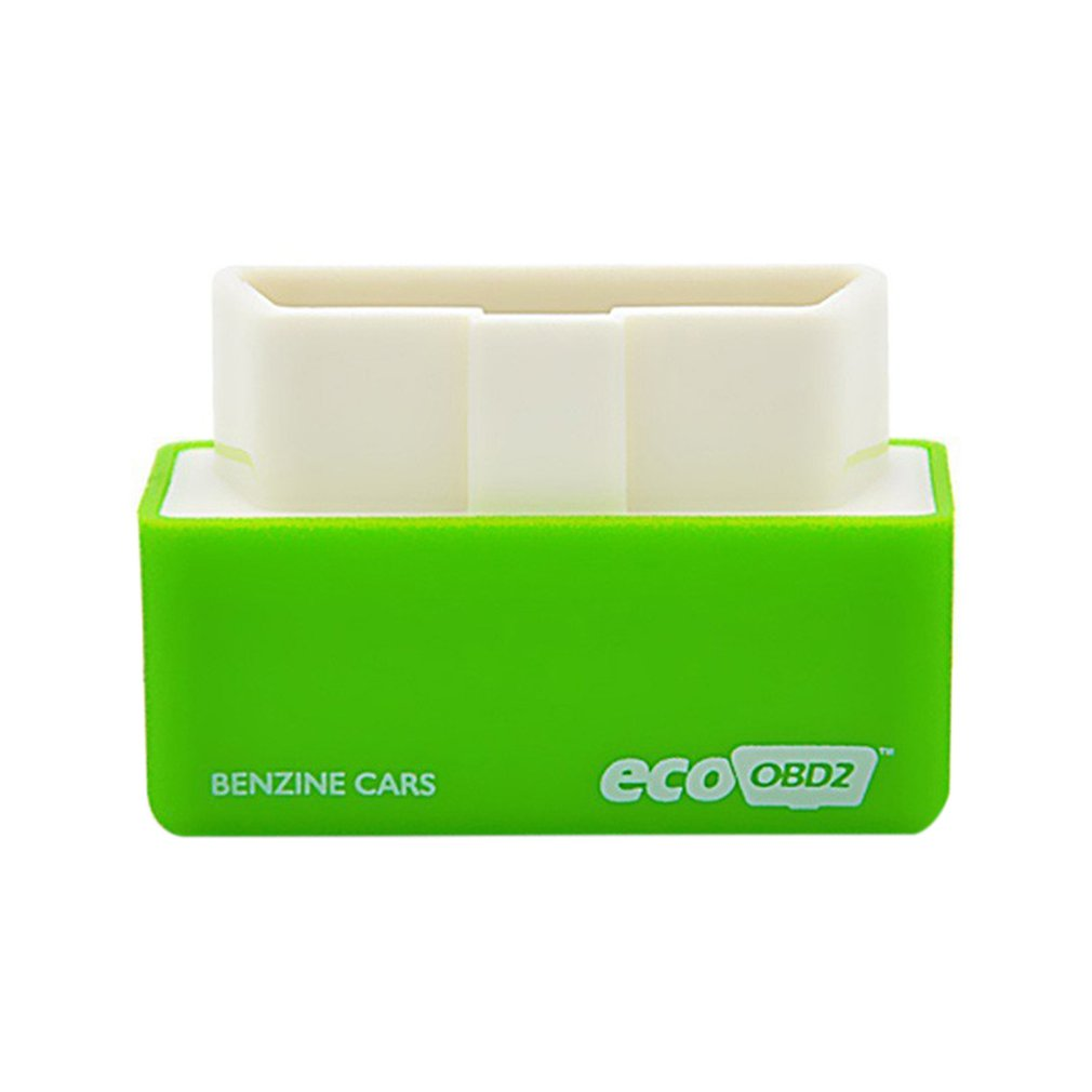 Car Mini OBD2 Economy Chip Tuning Box Green Power Fuel Optimization Device OBD2 Interface 15% Fuel Save For Benz