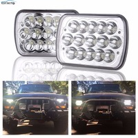 1set 45w 7inch seal beam led headlamp 24v 5x7 led headlights for trucks suv