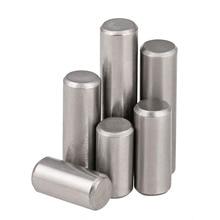 10 шт. GB119 стандарт M4 M5 M6 304 Шпильки цилиндра из нержавеющей стали, твердые штыри, фиксирующие контакты
