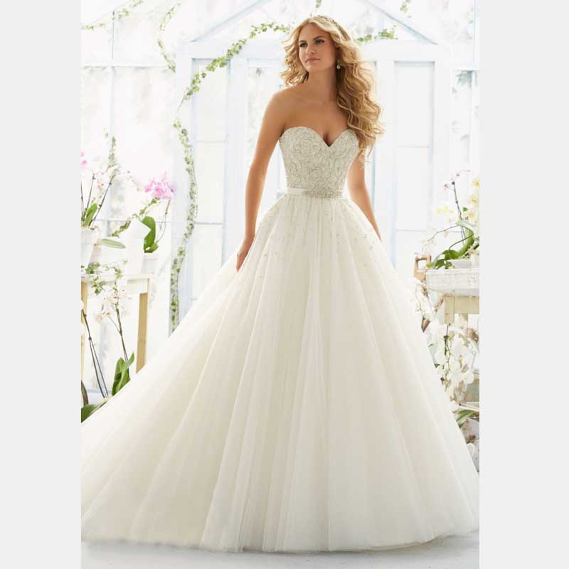 Wedding Gowns Prices In China : Organza bridal gowns ball gown white wedding dresses robe de mariage
