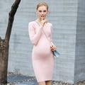 Grávida maternidade roupas outono completo manga bonito dress túnica vestido de verão para as mulheres grávidas roupas de maternidade vestir 502202