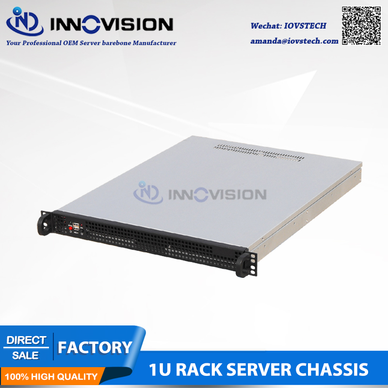 Compact 1U Rackmount Chassis L=550MM Rack Server Case