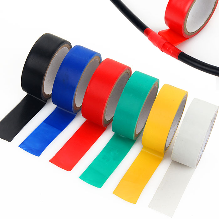 Self - adhesive electrical tape high temperature insulated wire tape PVC waterproof flame retardant tape 2 metersSelf - adhesive electrical tape high temperature insulated wire tape PVC waterproof flame retardant tape 2 meters