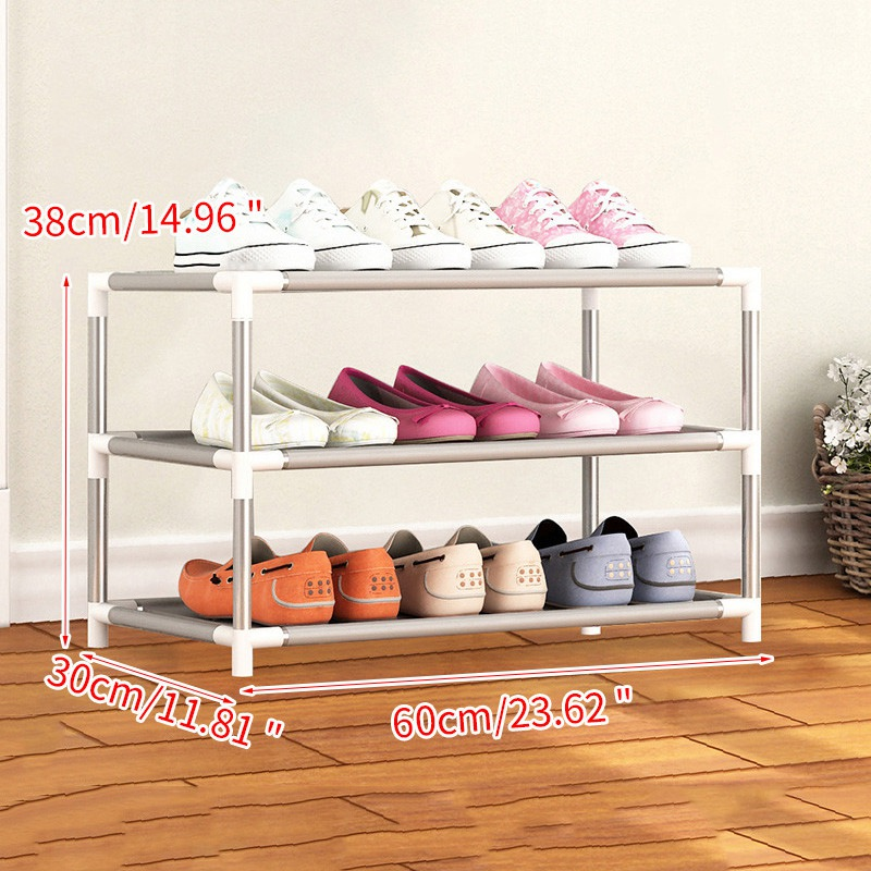 Image 5 - Furniture Shoe Racks Shoe Cabinets Save Space Multiple Layers Shoes Shelf Holder Stand Dustproof Home Organizer Living RoomShoe Cabinets   - AliExpress