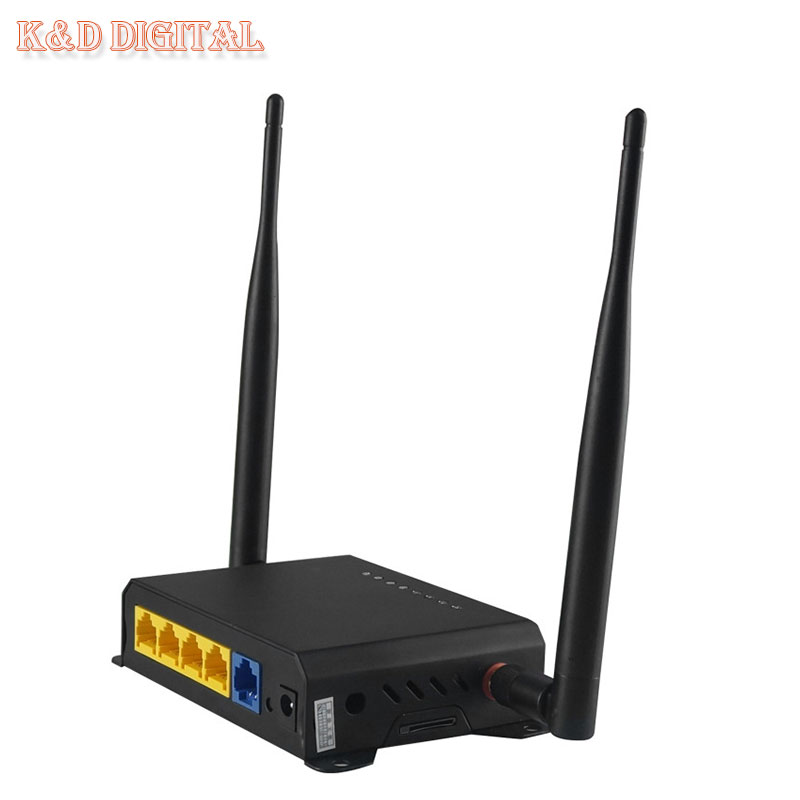 300Mbps OpenWRT Firmware SIM Slot WiFi Router With PCI E Slot Support 3G 4G AC Module