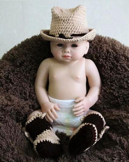 33d400e1ab9 newborn cowboy hat caps