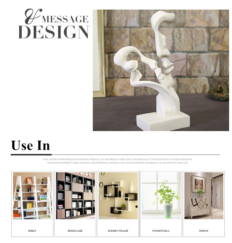 Abstract Lovers Figurines (8)