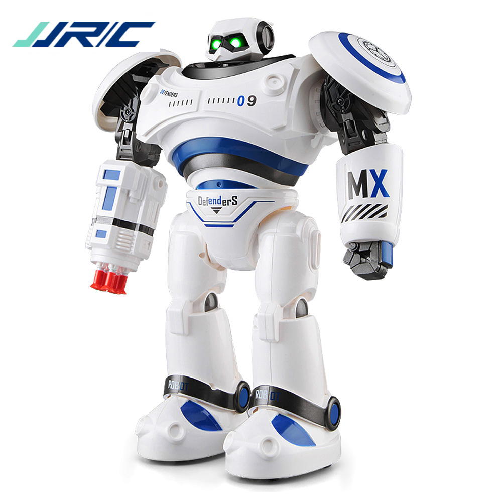 Original JJRC R1 Programmable Defender Intelligent Remote Control Toy Dancing Robot for Kids Birthday Holiday Gift Present VS R2 intelligent wireless remote control robot dog kids dancing walking dog