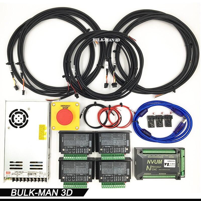 Mach 3 Contrôleur Électronique Combo Pour WorkBee CNC Fraiseuse, Bureau DIY CNC kit, Bois Machinary Routeur, machine de gravure