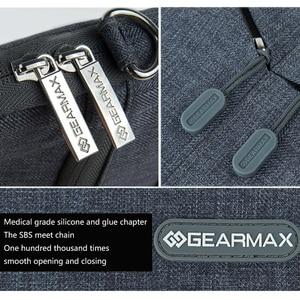 """Image 4 - Новая сумка для ноутбука Gearmax для xiaomi mi notebook air 12,5, наплечный чехол для ноутбука xiaomi air 13, чехол для ноутбука 12 """"13,3"""" для мужчин"""