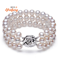 Luxurious Natural Freshwater Pearl Bracelets Fashion design accessories With high Quality