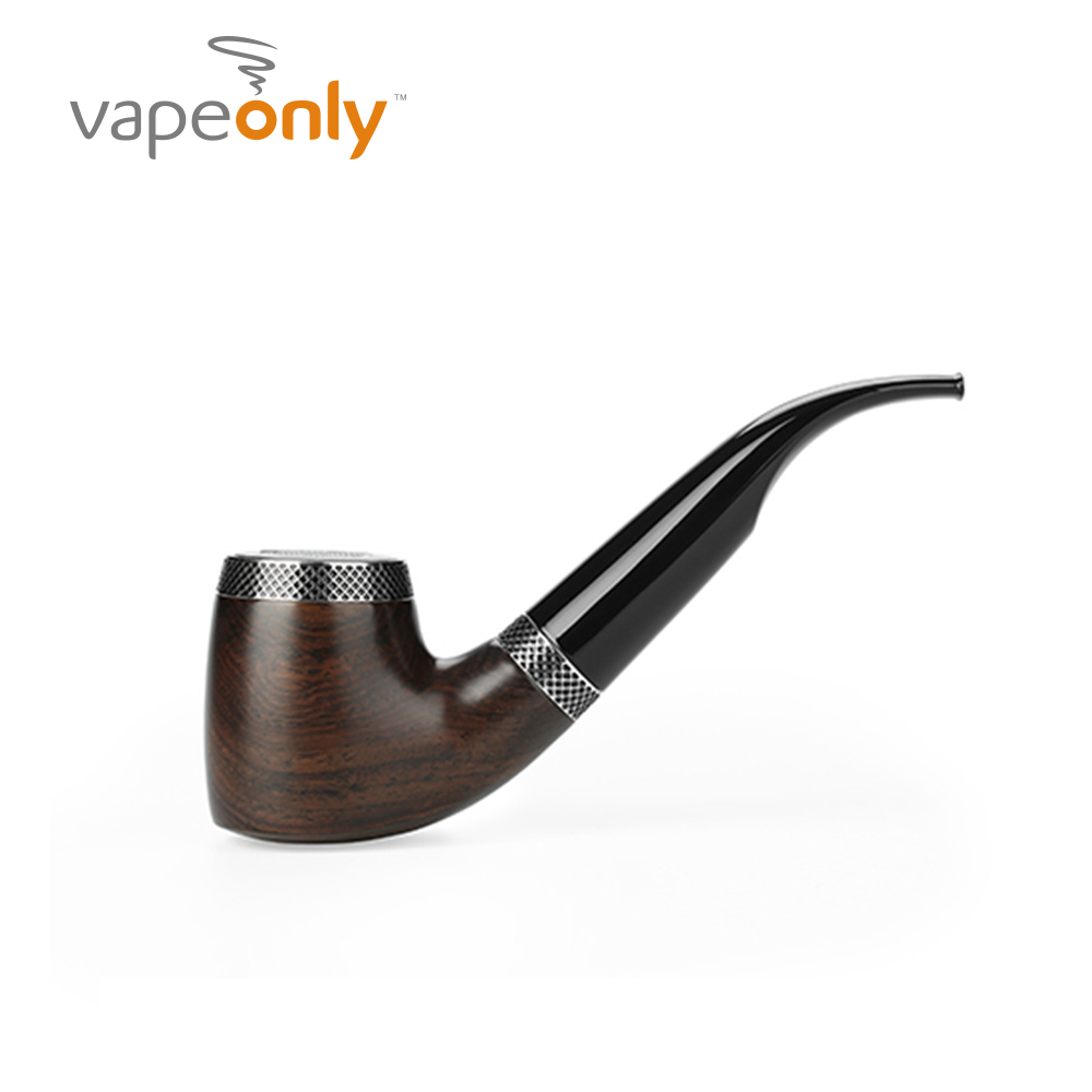 Original VapeOnly VPipe III Ebony E-Pipe Kit With 1300mAh Battery Air-activated System Ebony Wood Vape E-Pipe Kit VS K1000 Plus