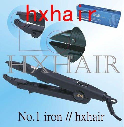 Freeshipping - 50pcs No.1 Adjust-Temp Hair Extension Fusion Connector / Hair Extension Fusion Iron / Hair Fusion Iron
