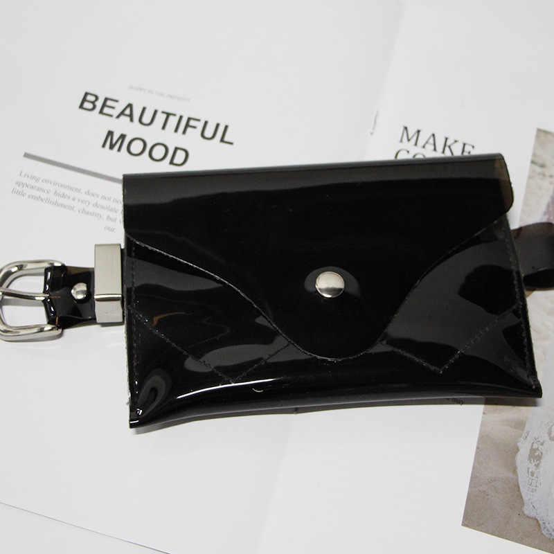 2019 mode rose fanny pack transparent néon sac enfants taille sac femmes été pvc téléphone portable bum ceinture sac enfants fanny pack