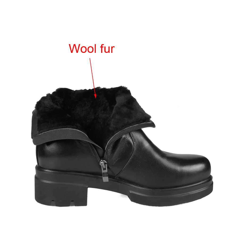 LIDIAN-Women-flat-heel-Ankle-Boots-high-quality-Genuine-Leather-Shoes-woolfur-Inside-Autumn-Fashion-Black (3)-1