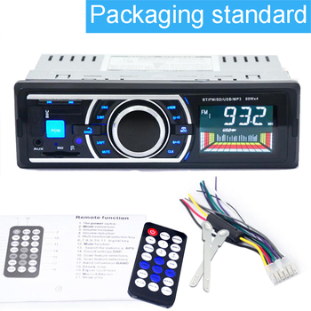 Car Mp3 Player with Remote control Support Fm Transmitter USB / SD Car Radio 1 Din In-Dash Autoradio Auto Radio image