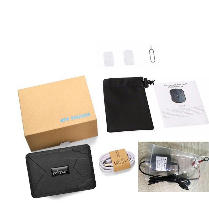 Imperméable à l'eau GPS voiture Tracker TK915 10000 mah longue durée de vie de la batterie forte aimant pour voiture camion application Web gratuite 120 jours en veille application gratuite