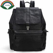 100% полная корова натуральная кожа Рюкзаки Женская мода путешествия большой ранцы Обложка Твердый простая сумка брендовая оригинальная Дизайн Packbag