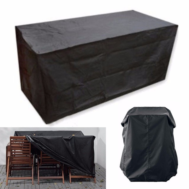 9 Size Waterproof Outdoor Oxford cloth furniture cover Patio Garden  Furniture Rain Snow Cover for Table Chair 9 Size - 9 Size Waterproof Outdoor Oxford Cloth Furniture Cover Patio Garden