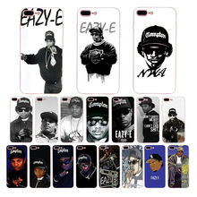 American pop rapper eazy-e Soft silicone mobile phone case for iphone 6s 6 7 8 plus x xs xr xsmax 5 5s se TPU cover shell bumper топ спортивный eazy way eazy way mp002xw0zx2x