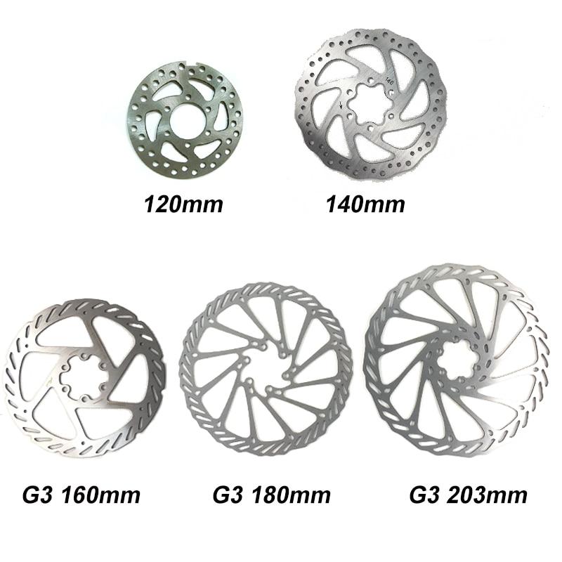 MTB XC DH Bike Hydraulic Disc Brake Lever Calipers w// Floating Rotor 160//180//203