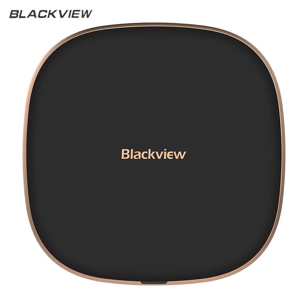 Blackview a W1 QI cargador inalámbrico 10 W 5,0 V 2A 9 V 1.67A TYPE-C para Blackview BV6800 Pro cargador rápido pad BV9500 BV9500 PRO BV5800