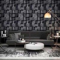 3D Morden Mosaic Stone Mural Wallpaper Roll PVC Vinyl Tile Wall Paper For Kitchen Bathroom Background Wall papel de parede