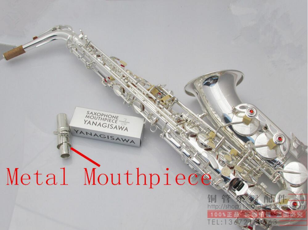 Free shipping Japanese 2016 musical Yanagisawa new W037 Silver plated alto saxophone YANAGISAWA limited promotion цена