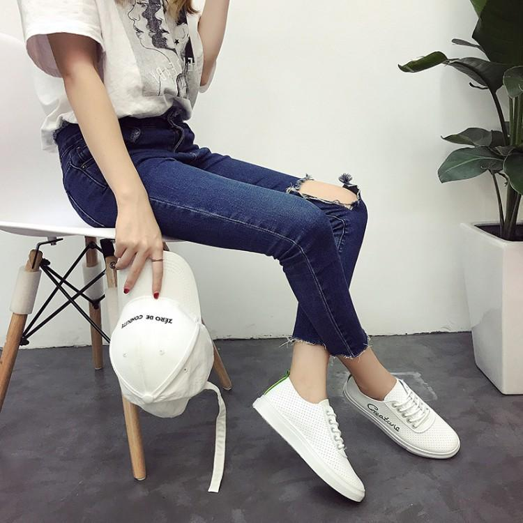 2018 Sauvage Nouvelle Tendance Mou Plat Casual Toile Respirant rose vert Noir Fond Chaussures Mince Chaussures qrrIwH