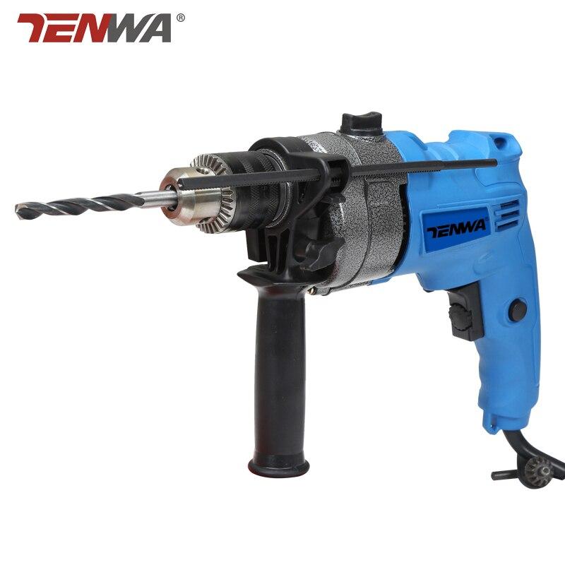 tenwa 220v impact drill electric drill multi purpose dual. Black Bedroom Furniture Sets. Home Design Ideas