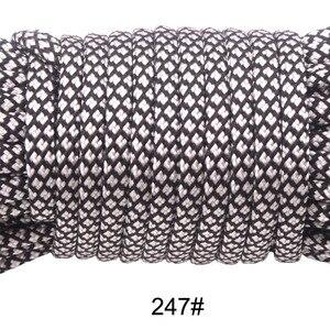 Image 5 - YoouPara Outdoor Survival Knife 50 Feet Paracord 550 Parachute Cord Rope 7 Core 100 Pcs/lot
