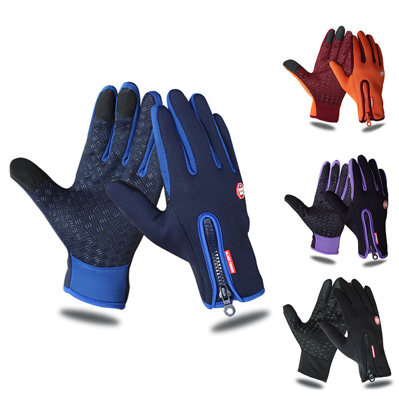 Outdoor Sports Hiking Winter Bicycle Bike Cycling Gloves For Men Women Windstopper Simulated Leather Soft Warm Gloves bikein cycling bike sports waterproof soft touch screen glove winter racing warm windstopper gloves s m l xl bicycle accessories
