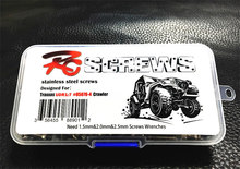 370pcs/box Trax UDR 1:7 upgrade Special grade 12.9 highest strength stainless steel screw Rear Straight Bridge Short ruck