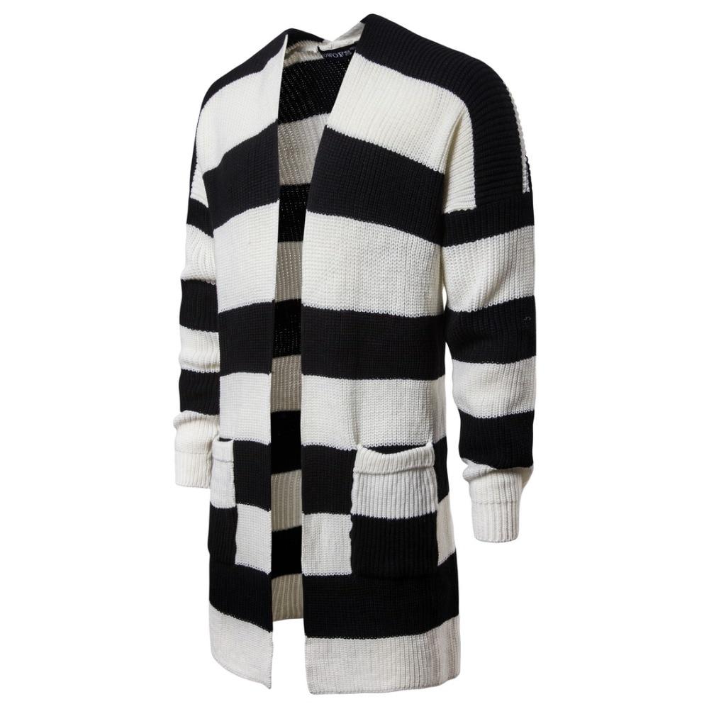 2018 Neue Herbst Winter Männer Warme Strickjacke Sweatercoat Beiläufige Lange Mans Pullover Verdicken Strickwaren Kleidung Streetwear Billigverkauf 50%