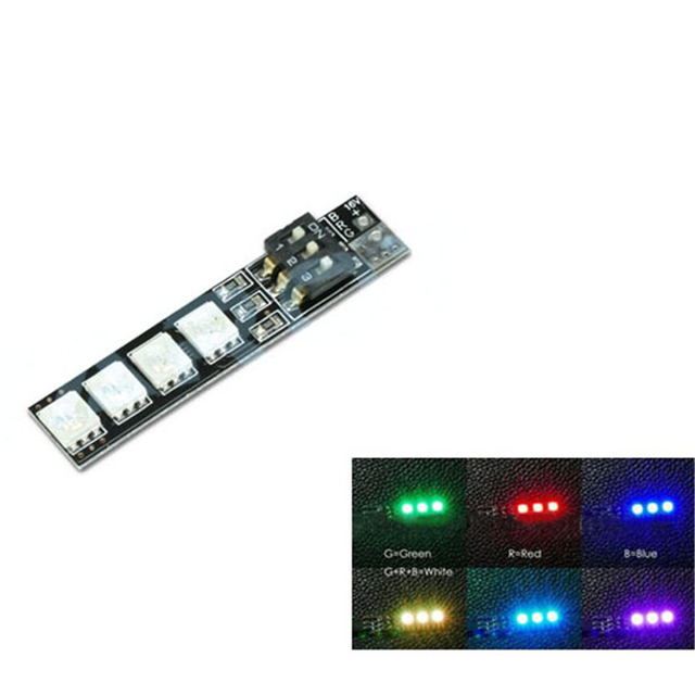 Tarot LED 7-color Strip Light Colorful Night Light Board TL2816-05 for Drone Quadcopter Multicopter