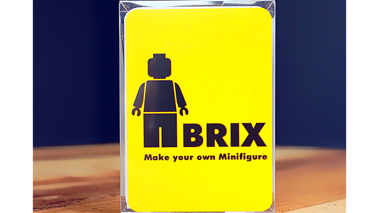 BRIX (Gimmick and Online Instructions) By Mr. Pearl and ARCANA - Magic Tricks Illusions Mentalism As Seen on Tv Games Magician image