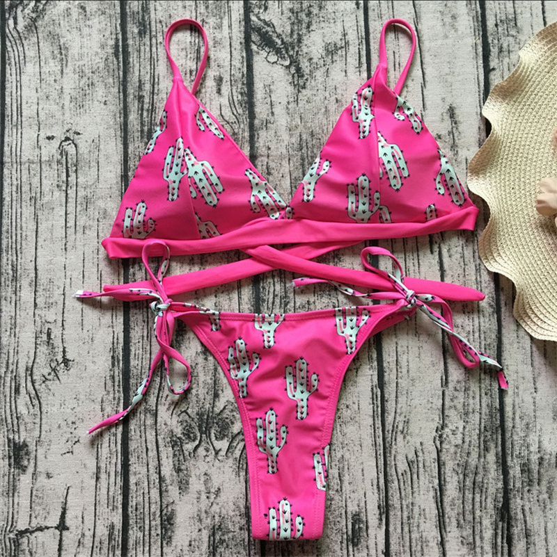 HTB1erPjE79WBuNjSspeq6yz5VXau Floral print bikinis 2018 new swimwear women swimsuit beach bathing suit maillot de bain femme biquini sexy brazilian bikini set