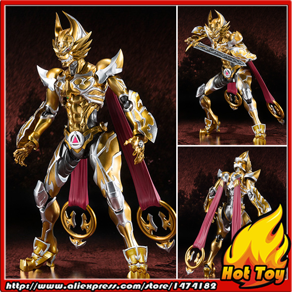 100% Original BANDAI Tamashii Nations S.H.Figuarts (SHF) Exclusive Action Figure - Garo Leon KOKUIN Ver. from GARO tt tf ths 02b hybrid style black ver convoy asia exclusive
