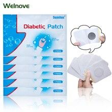 60pcs/10bag Diabetic Patch Diabetes Herbal Diabetes Cure Lower Blood Glucose Treatment Sugar Balance Plaster D1275