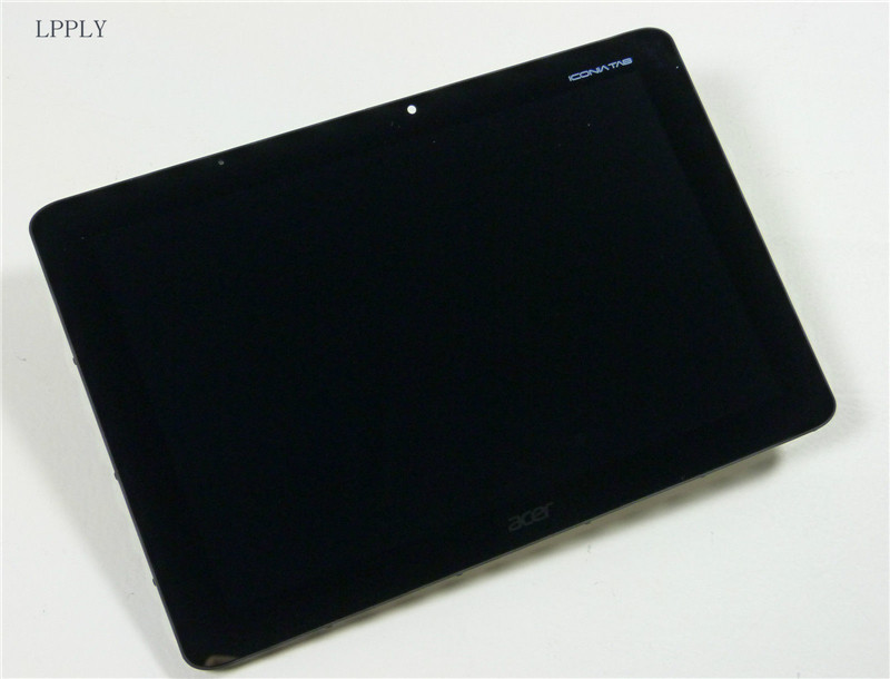 New LCD Display Touch <font><b>Screen</b></font> Assembly Replacement For <font><b>Acer</b></font> Iconia Tab <font><b>A510</b></font> A511 A700 A701 Free Shipping image
