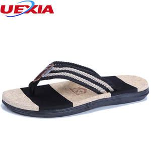 3f78c10c759389 UEXIA Flip Flops Outdoor Summer Beach Shoes Men Slipper