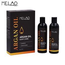 MELAO Organic Glycerol Oil Hair Care Rejuvenating Shampoo Conditioner Set Moisturize Hydrate Hair Smooth and Shine 8oz 237ml O