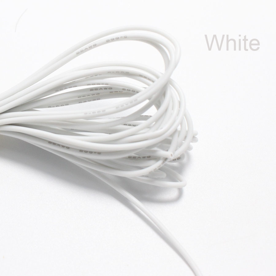 50metre 22AWG Soft Silicone Cable 0.3mm2 Ultra Flexiable Test Line ...