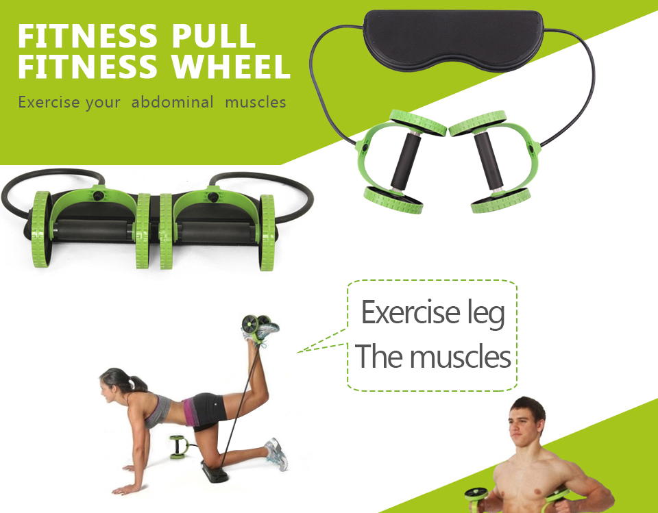 BLUERISE Multi Function Abs Roller as Training Apparatus and Gym Equipment for Fitness and Exercise 17